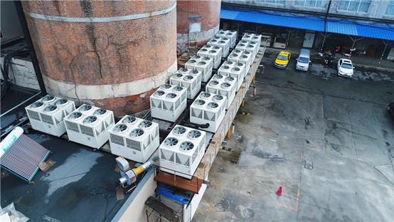 水产养殖热水设备选什么好?纽恩泰空气能热泵用实例说话