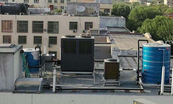 空气源热泵采暖无水采暖原理 工作原理