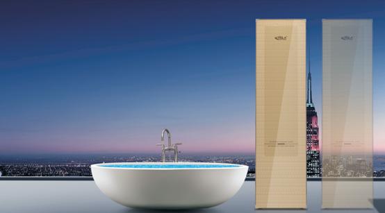 家用热水与商用热水的无缝衔接纽扣:米特拉热++水魔方空气能