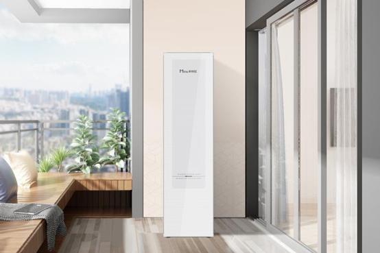 米特拉水魔方空气能热水器,超大容量定制水箱,从别墅到酒店都适用
