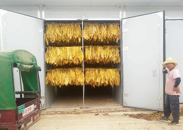 以电代煤,同益空气能河南烤烟项目获好评