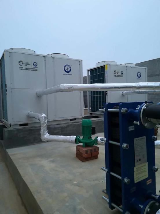 养猪场环保改造成风,空气能热泵成猪场采暖新选择